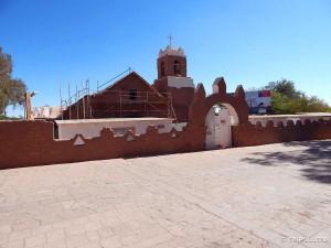 Glavna crkva San Pedro de Atacame je u obnovi