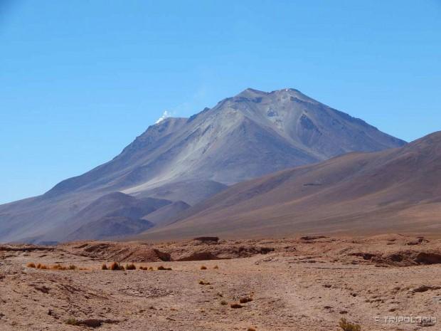 Aktivni vulkan Ollague