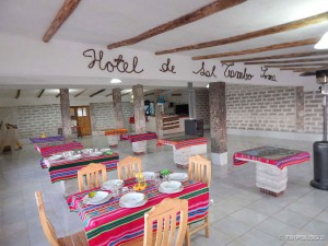 Hotel de sal Tambo Loma, restoran
