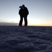 Salar de Uyuni, jutarnja romatika