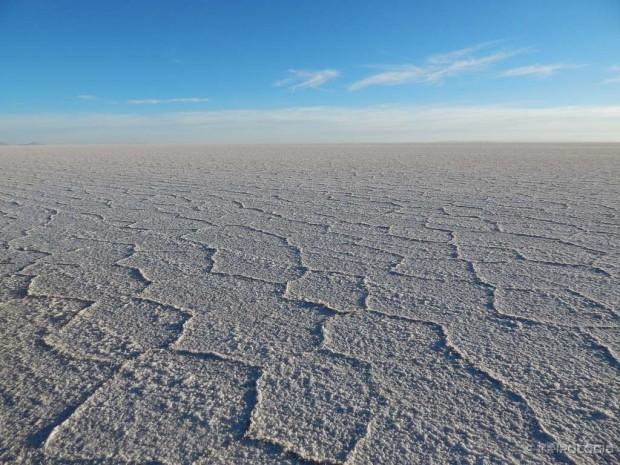Salar de Uyuni - nepregledna bjelina soli