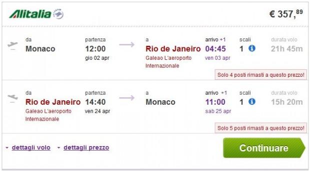 Minhen >> Rio de Janeiro ili Sao Paulo >> Minhen