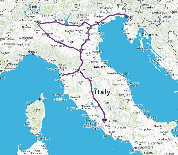Trenitalia Za Pocetnike Vlakom Po Italiji