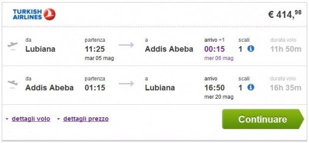 Ljubljana >> Addis Abeba >> Ljubljana