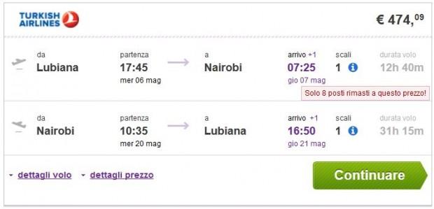 Ljubljana >> Nairobi >> Ljubljana