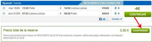 Porto >> Lisabon >> Porto