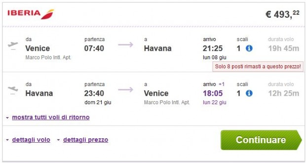 Venecija >> Havana >> Venecija