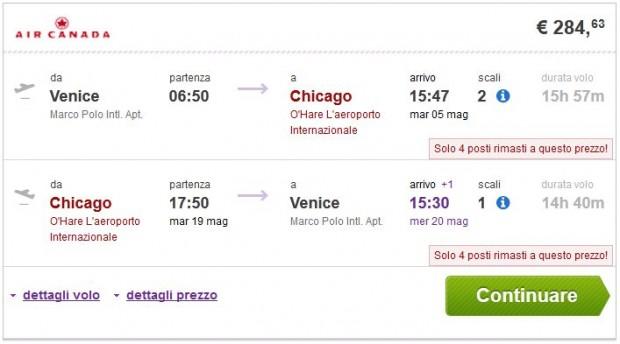 Venecija >> Chicago >> Venecija