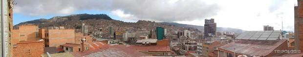 La Paz gledan iz naše hotelske sobe