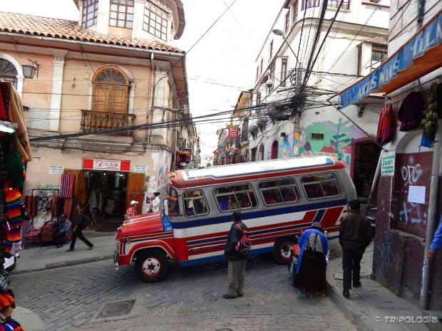 Ulicama La Paza