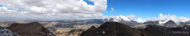 Panoramski pogled sa vrha Chacaltaye