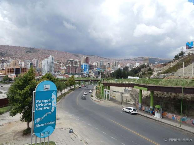 Parque Urbano Central, leteći park iznad grada