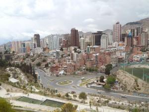 Parque Urbano Central, najbolji pogled na La Paz