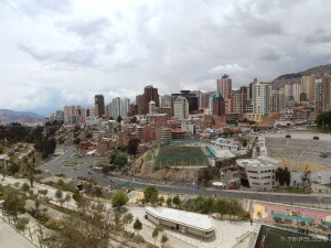 Otvoreni pogled na La Paz