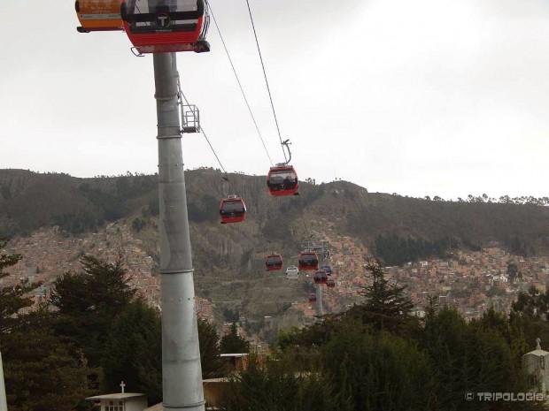 Moderna i nova gradska žičara Teleférico La Paz – El Alto