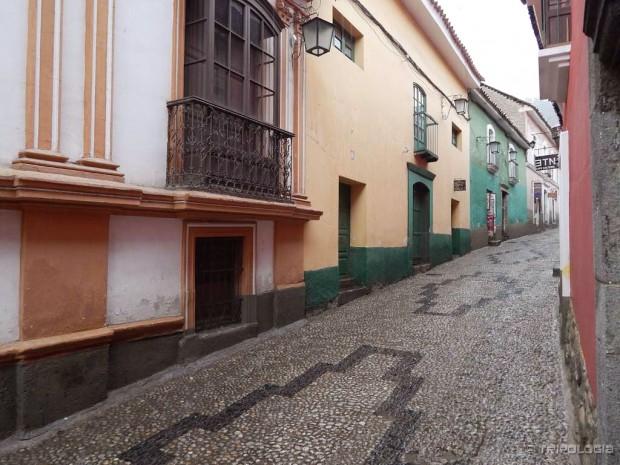 Calle Jaén - najbolje je očuvana kolonijalna ulica La Paza