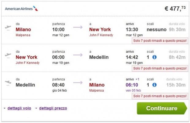 Milano >> New York >> Medelin >> Milano