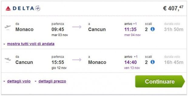 Minhen >> Cancun >> Minhen, budgetair.it