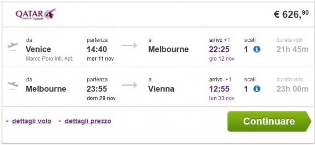 Venecija >> Melbourne >> Beč