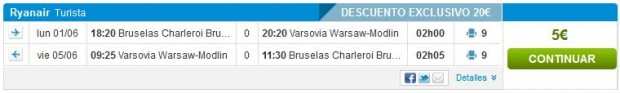 Brisel >> Varšava >> Brisel