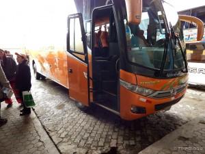 Naša pila spremna za polijetanje, Titicaca bus