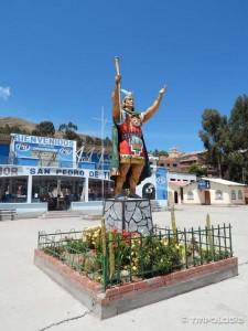 Sa druge strane prolaza Tiquina čekaju nas Inke
