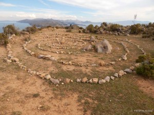 Neobjašnjiva spirala na vrhu otoka