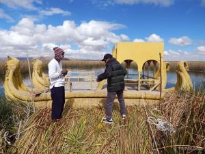 Naša barka i mali od otoka