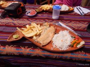 Za ručak riba troutche