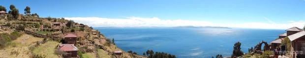 Prelijepa panorama jezera Titicaca