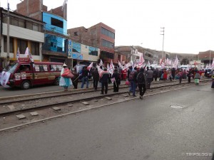 Protest u gradu