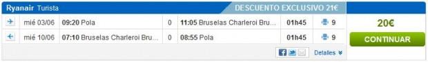 Pula >> Brisel >> Pula