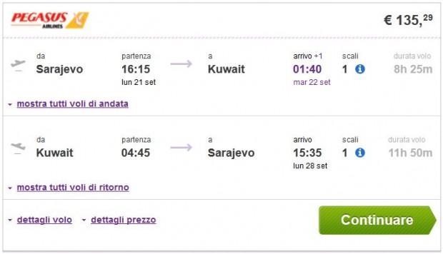 Sarajevo >> Kuvajt >> Sarajevo
