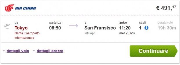 Tokio >> San Francisco