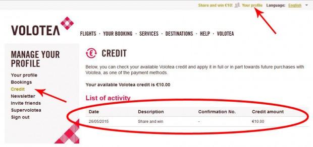 Provjerite stanje kredita na vašem računu