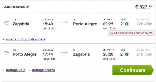 Zagreb >> Porto Alegre >> Zagreb