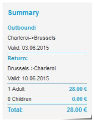 Brussels Charleroi airport transfer