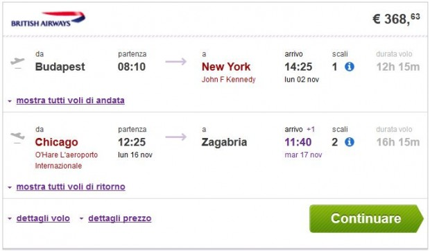 Budimpešta >> New York -- Chicago, Washington, Boston, Philadelphia... >> Zagreb