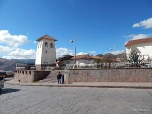 Mali trg i crkva Santa Ane nedaleko od našeg hostela