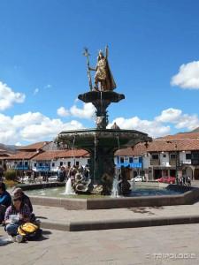 Inca Pachacutec - najveći Inka car i vjerovatno graditelj Machu Picchua - Plaza de Armas, Cusco