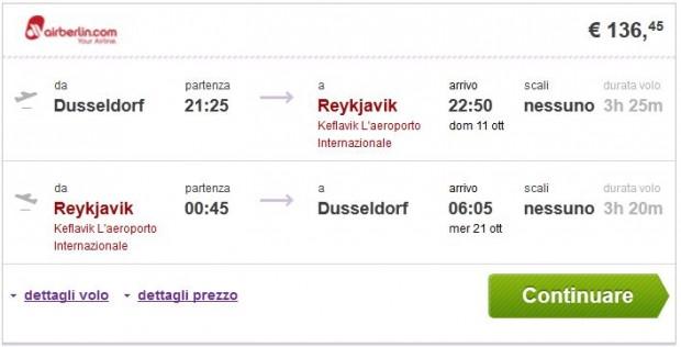Dusseldorf >> Reykjavik >> Dusseldorf