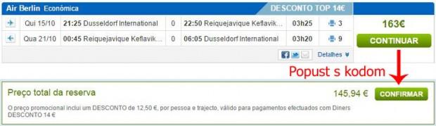 Dusseldorf >> Reykjavik >> Dusseldorf, na rumbo.pt stranicama
