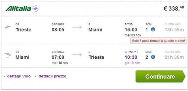 Trst >> Miami >> Trst