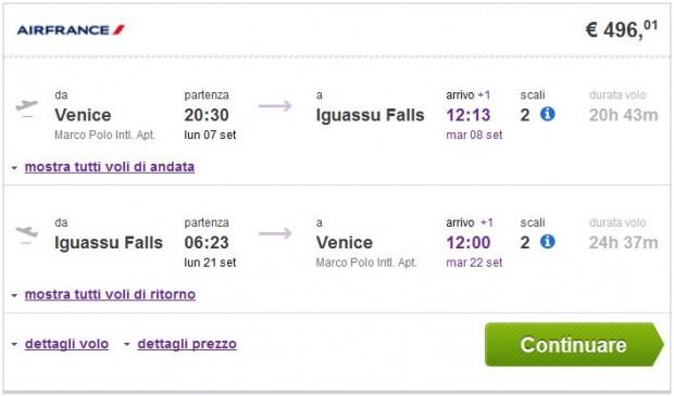 Venecija >> Iguassu Falls >> Venecija