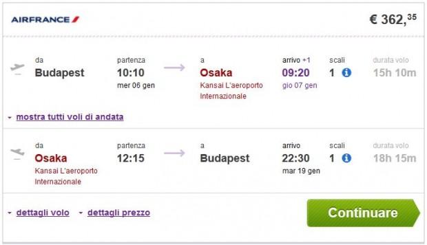 Budimpešta >> Osaka >> Budimpešta