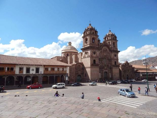 La Compania, crkva izgrađena na temeljima palače Huayna Capaca