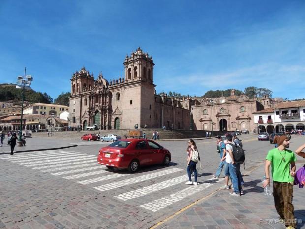 Plaza de Armas - katedrala