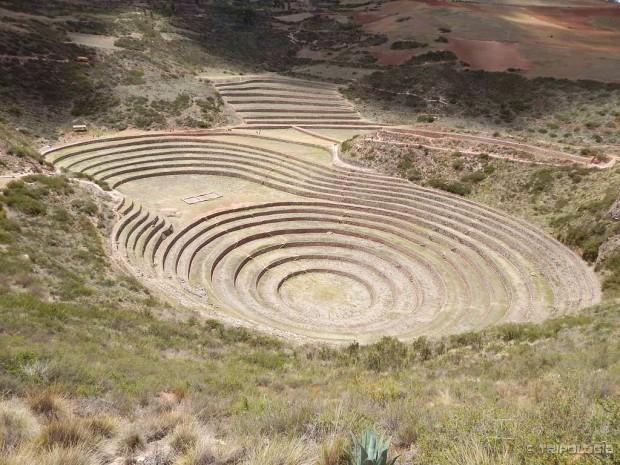 Moray - drevna agronomska laboratorija Inka