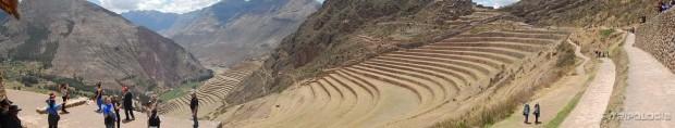 Velike terase i Sveta Dolina Inka u podnožju