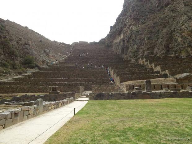 Ollantaytambo - najočuvaniji grad Inka